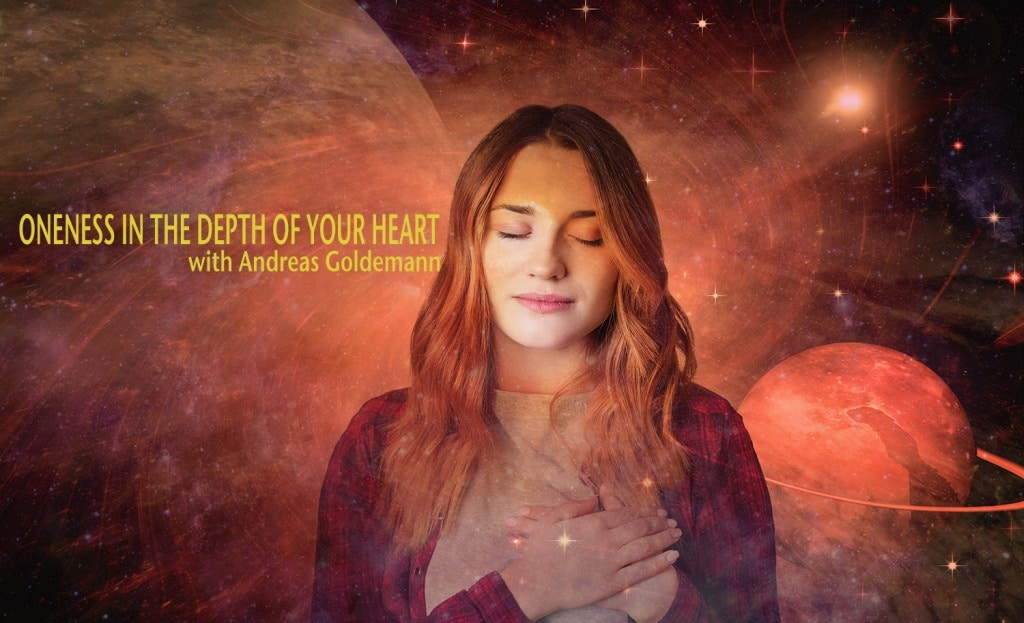 Oneness in the depth of your heart